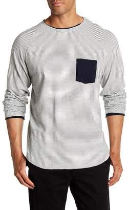 Velvet by Graham & Spencer Long Sleeve Stripe Knit Pullover