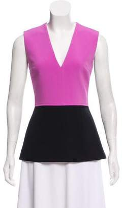 Roksanda Contrast Sleeveless Top