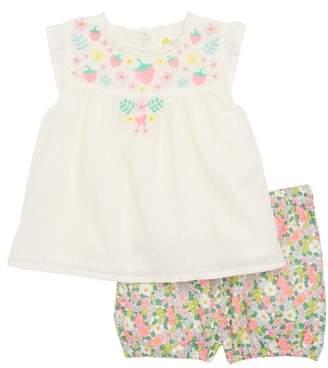 Boden Mini Sunny Days Top & Shorts Set