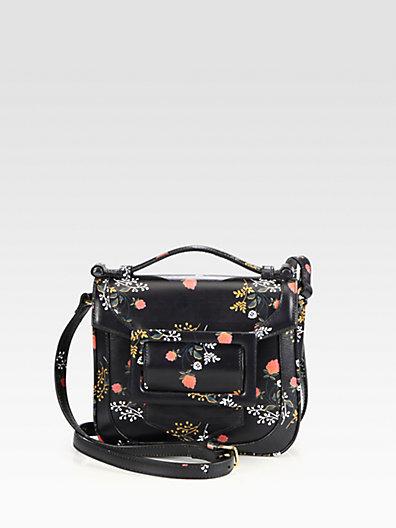 Derek Lam Floral Printed Bodin Mini Bag