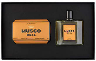 Musgo Real Gift Set (Soap on a Rope & Cologne) - Orange Amber