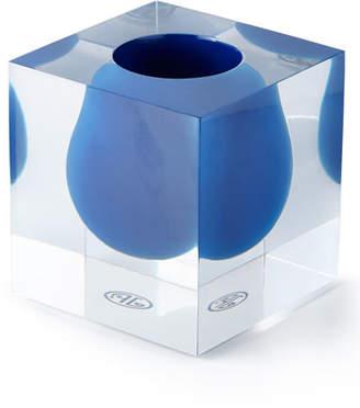 Jonathan Adler Bel Air Cobalt Mini Scoop Vase