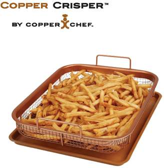 Copper Chef Copper Crisper - Transforms Your Oven in to an Air Fryer - Fast and Healthier Way of Cooking