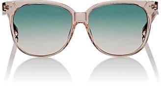 Celine Women's Oversized Rounded Square Sunglasses - Turquoise