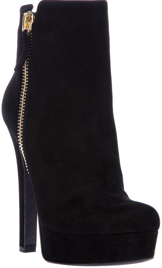 Gianmarco Lorenzi Collector platform ankle boot