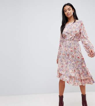 Vero Moda Petite Paisley Printed Asymetric Dress