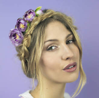 Crown and Glory Ranunculus Headband