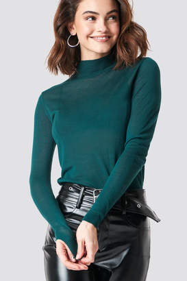 Xle The Label Devon Knitted Pullover Deep Green