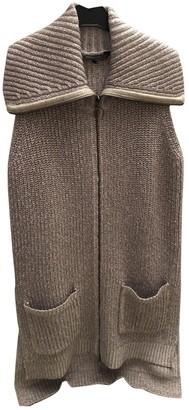 BCBGMAXAZRIA Silver Wool Knitwear for Women