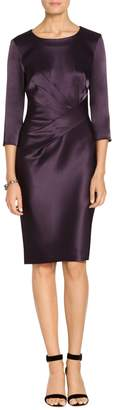 St. John Liquid Satin Dress