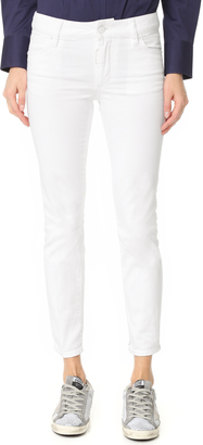 DSQUARED2 Twiggy Cropped Jeans $460 thestylecure.com