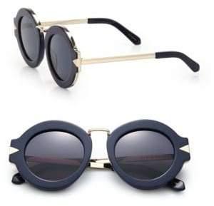 Karen Walker (カレン ウォーカー) - Karen Walker Maze 47MM Round Sunglasses