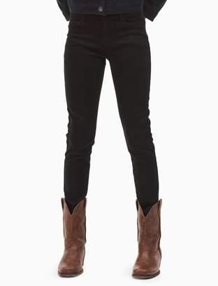 Calvin Klein Jeans Calvin Klein girls skinny stretch ankle pants