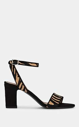 Tabitha Simmons Women's Leticia Calf-Hair & Suede Sandals - Zebhbkks