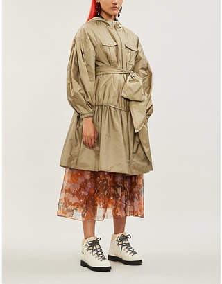 Simone Rocha MONCLER GENIUS 4 Moncler Ellen shell coat