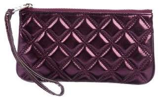 Marc Jacobs Quilted Leather Wristlet