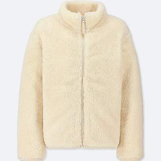 Uniqlo Kid's Fluffy Yarn Fleece Long-sleeve Jacket