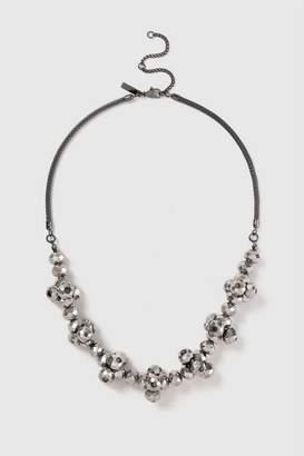 Wallis Black Cluster Short Necklace