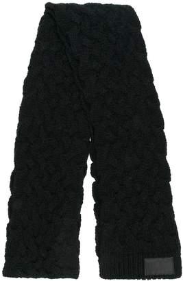 Yohji Yamamoto braided scarf