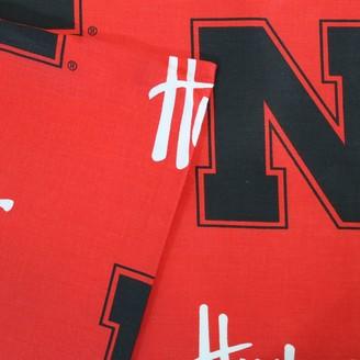 Nebraska Cornhuskers Printed Sheet Set - King