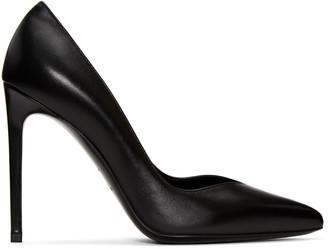 Saint Laurent Black Paris Skinny Heels $595 thestylecure.com