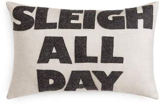 Alexandra Ferguson Sleigh All Day Decorative Pillow, 12 x 18 - 100% Exclusive