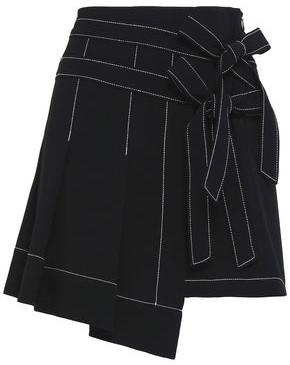 Cinq à Sept Ingrid Crepe Mini Skirt