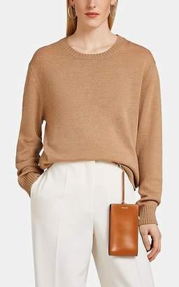 Jil Sander Women's Virgin Wool Crewneck Sweater - Beige, Tan