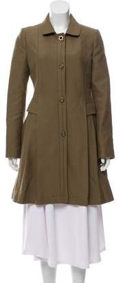 See by Chloe Wool-Blend Knee-Length Coat