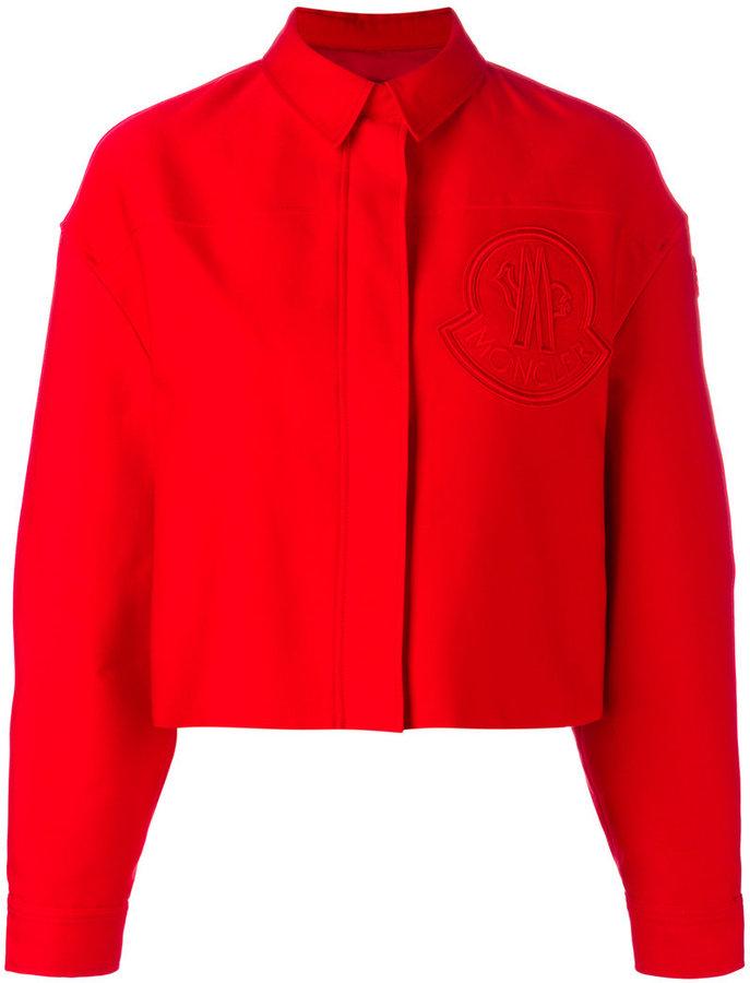 Moncler Gamme Rouge cropped boxy jacket