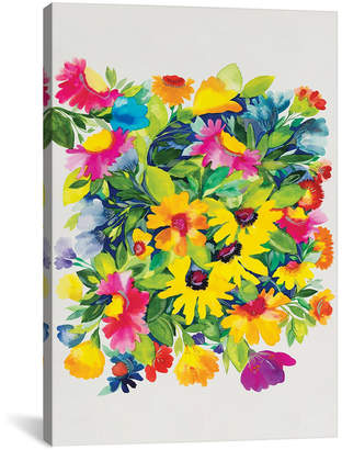 "iCanvas Late Summer'S Bouquet"" By Kim Parker Gallery-Wrapped Canvas Print - 18"" x 12"" x 0.75"""