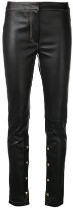 Loewe skinny-fit biker leggings