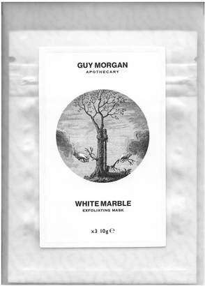 Morgan Guy White Marble Exfoliating Mask Sachets