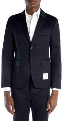 Thom Browne Cotton Twill Unconstructed Blazer