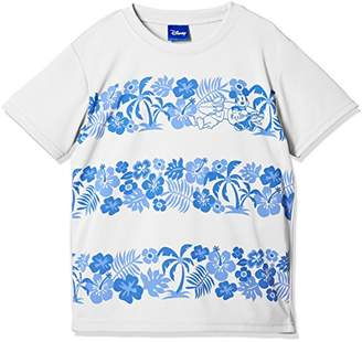 Disney (ディズニー) - [ディズニー] ボタニカルボーダープリントTシャツ 332227527 ボーイズ オフ 日本 140 (日本サイズ140 相当)