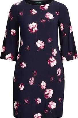 Ralph Lauren Floral Jersey Shift Dress