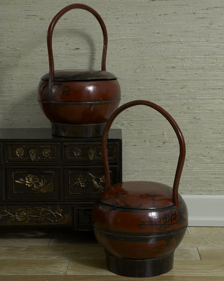 Each Antique Wedding Basket