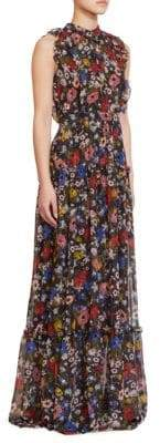 Erdem Ava Sleeveless Silk Gown