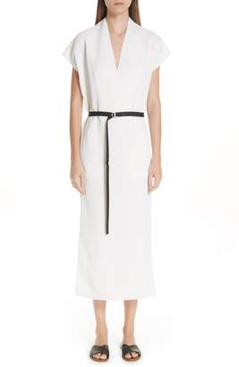 Zero Maria Cornejo Leah Belted Dress