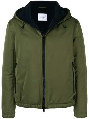 Dondup zipped hooded jacket