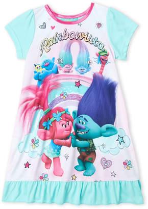 Trolls (Girls 4-6x) Character Ruffle Hem Nightgown