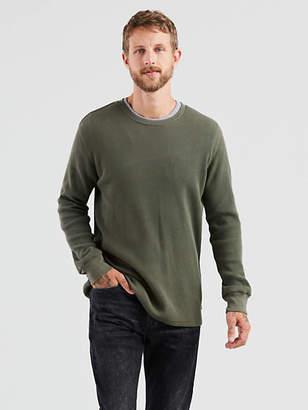 Levi's Thermal Crewneck Tee Shirt T-Shirt