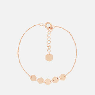 Cluse Women's Essentielle Hexagons Chain Bracelet