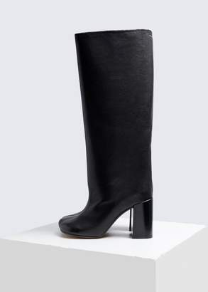 MM6 MAISON MARGIELA Knee High Leather Boot