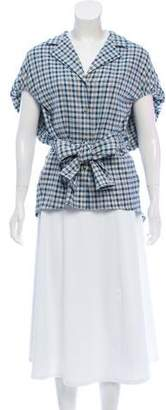 Rosie Assoulin Have The Wind At Your Back Plaid Tunic w/ Tags