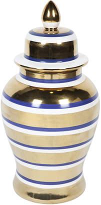 Lexington Home Medium Cruz Porcelain Temple Jar