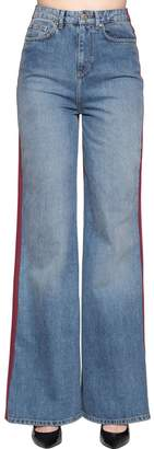 Tommy Hilfiger Tommy Two Tone Flared Denim Jeans