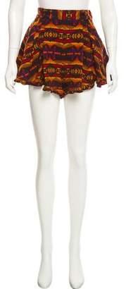 Pendleton Printed Mini Shorts