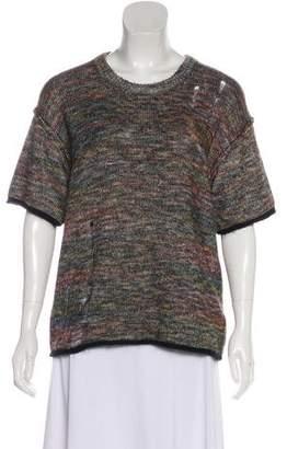 Raquel Allegra Vintage Distressed Knit Top w/ Tags