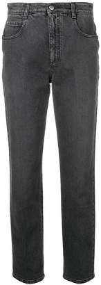 Stella McCartney high rise straight jeans